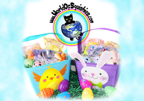 World of Squishies Loaded Easter Basket