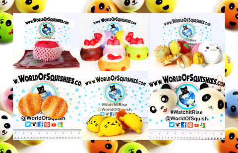 new arrival squishies at world of squishies