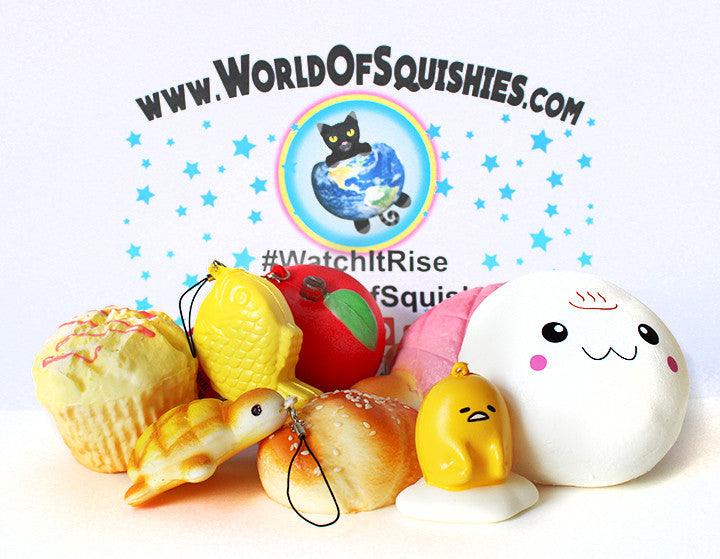 8-Piece Grab Bag Front View at World Of Squishies