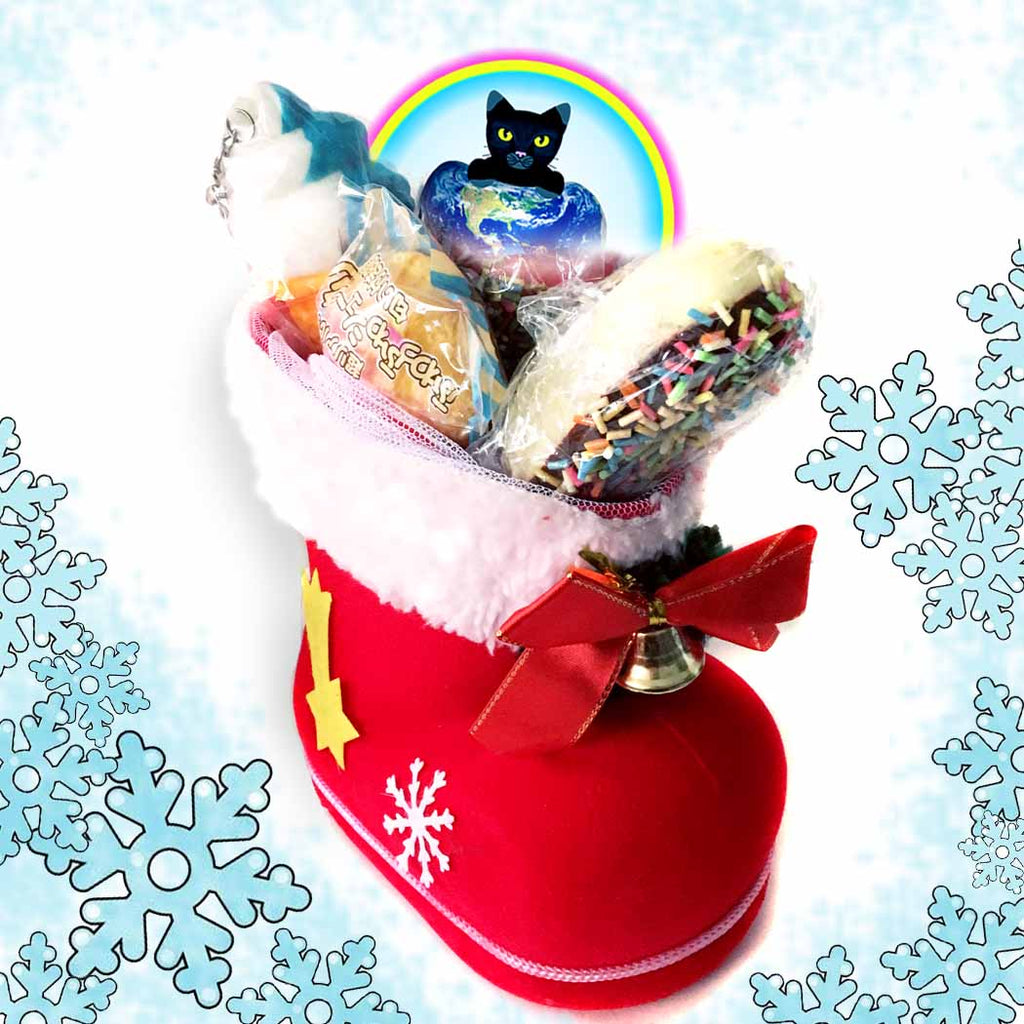 Santas Boot Squishy Gift Bag