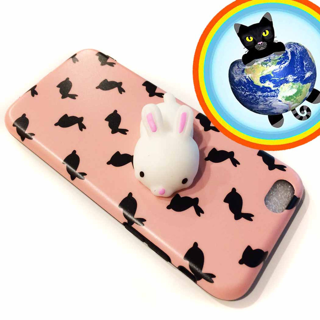 Bunny Squishy Cell Phone Case