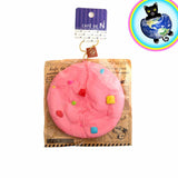 Cafe De N Pink Rainbow Chocolate Chip Cookie Squishy