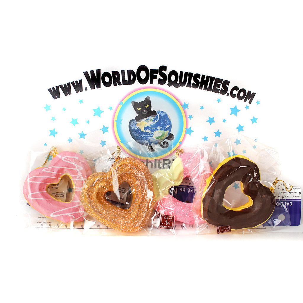 Cafe De N Squishy Package : Cafe De N Sweetheart Churro Squishies - World Of Squishies