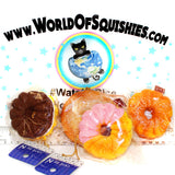 Cafe De N Crullers & Donuts Squishy Charms