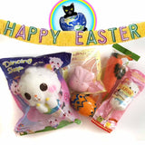 World of Squishies Easter Basket contents