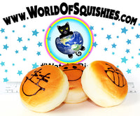 Jumbo Emoji Bakery Bun Squishy Charms at World Of Squishies