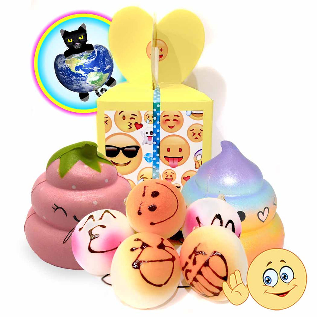 Emoji Squishy Grab bag gift