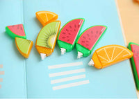 kawaii fruit white out tape dispenser