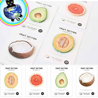 Cute Fruit Sticky Notes