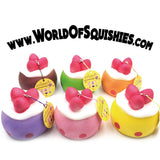 Funny House Strawberry Puff Squishies in all 6 Colors at World Of Squishies
