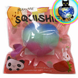 Ikuurani Jumbo Galaxy Peach Squishy in Packaging