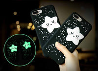 Glow in the Dark Star Cell Phone Cases