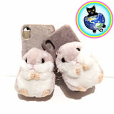 Plushy Hamster iPhone cases