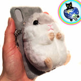 Plushy Hamster Cell Phone Case
