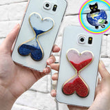 Heart Hourglass Cell Phone Cases