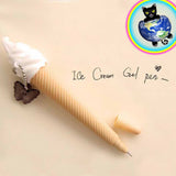 Ice Cream cone gel pen