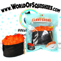 SanQi Elan I Love Sushi Squishies with resealable package at world of squishies