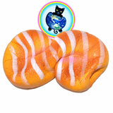 Kiibru Infinite Bread Squishies being Squished