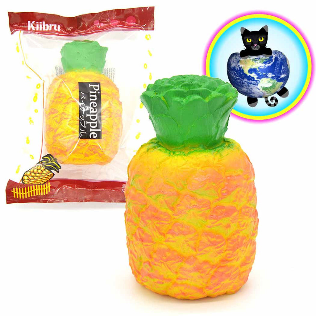 Kiibru Pineapple shown in and out of wrapper