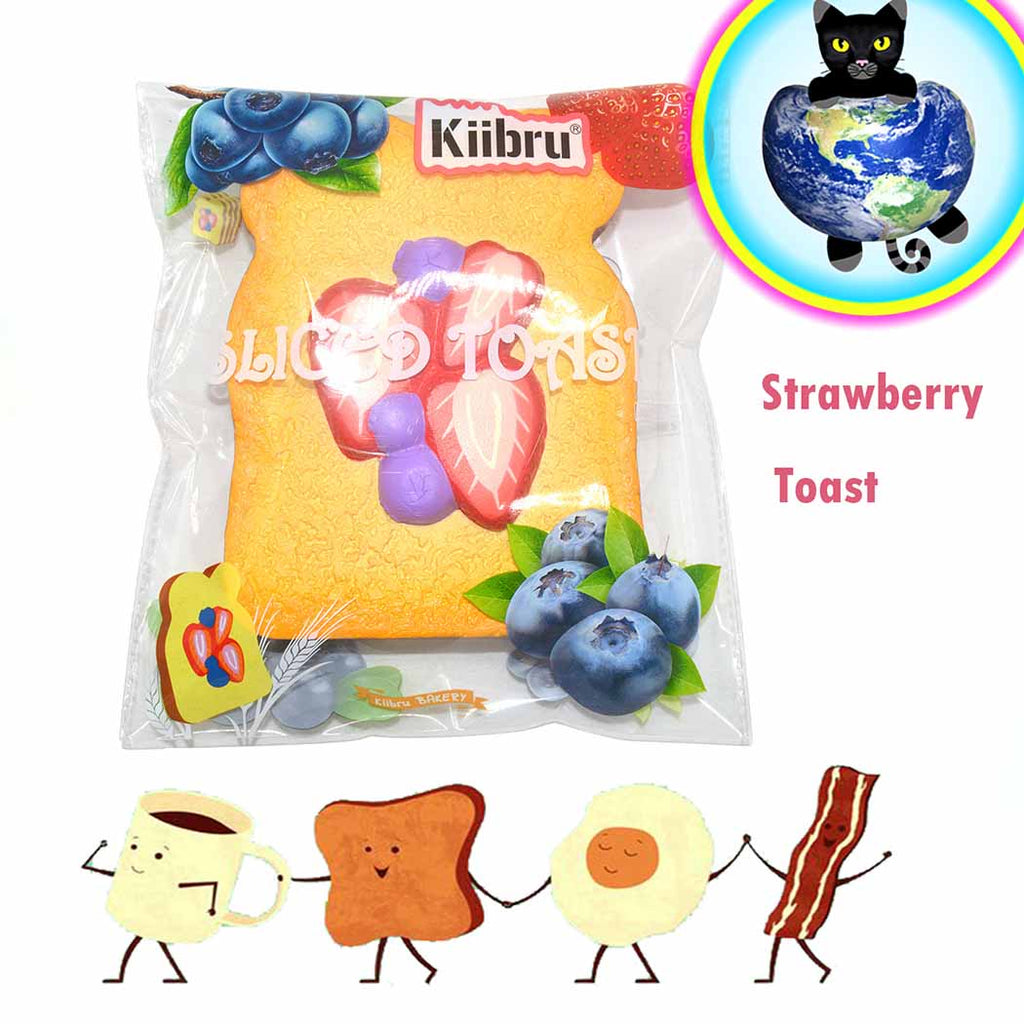 Kiibru Jumbo Sliced Toast Squishy