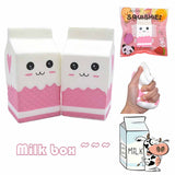 Ikuurani Jumbo Milk Box Squishies
