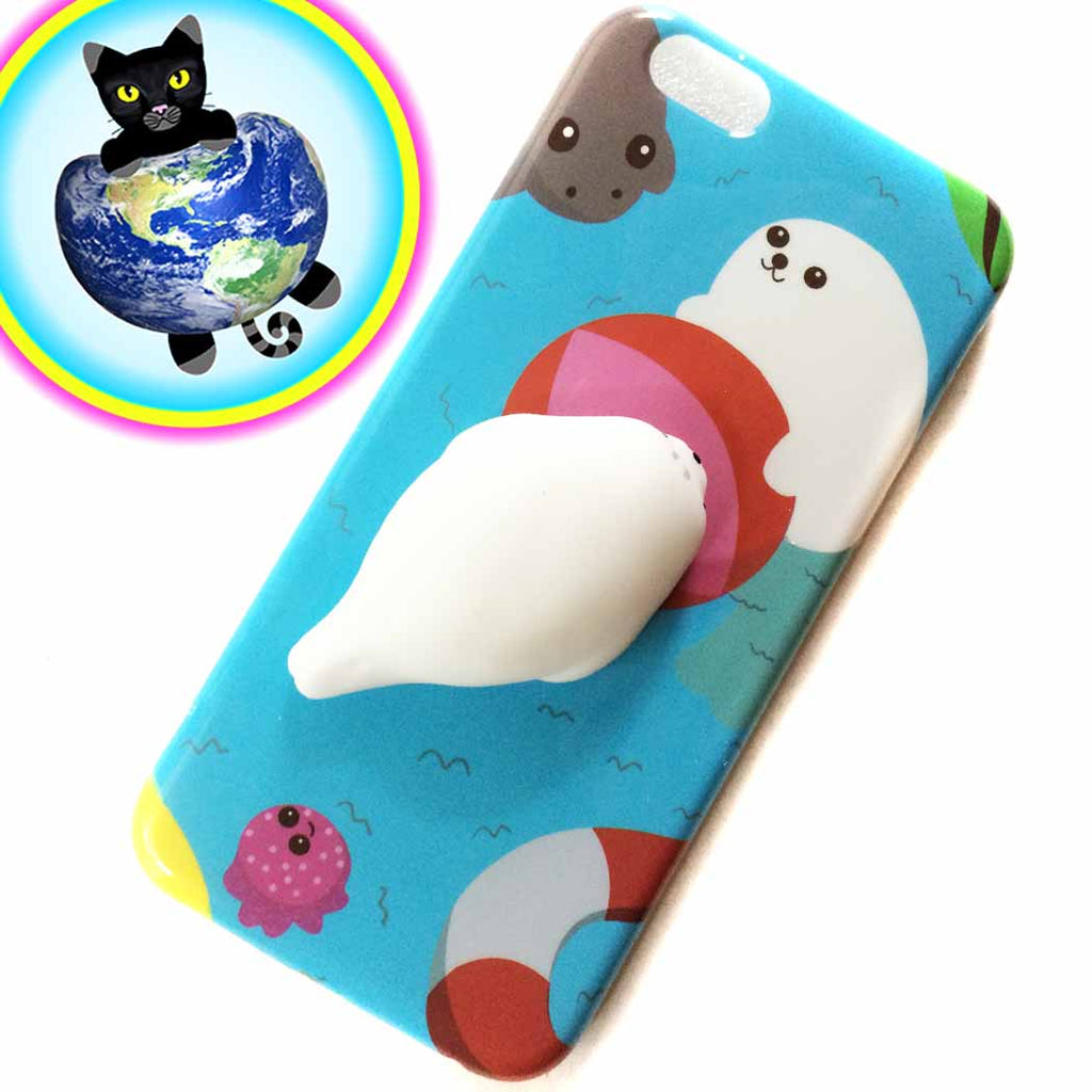 Squishy Iphone Case : Mochi Seal Squishy iPhone 6/6S Case