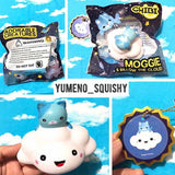Moggie and Billow the Cloud Squishies By Chibi at World of Squishies