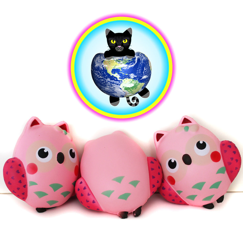Jumbo Kawaii Owl Squishy