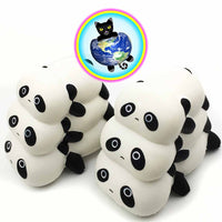 Panda Pile-Up Slow Rising Squishies
