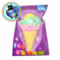 Kiibru Jumbo Galaxy Ice Cream Cone Squishies