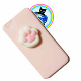 Pink Paw Squishy iPhone 6/6S Case