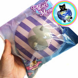 Planet Meow Jumbo Space Squishy in Purple