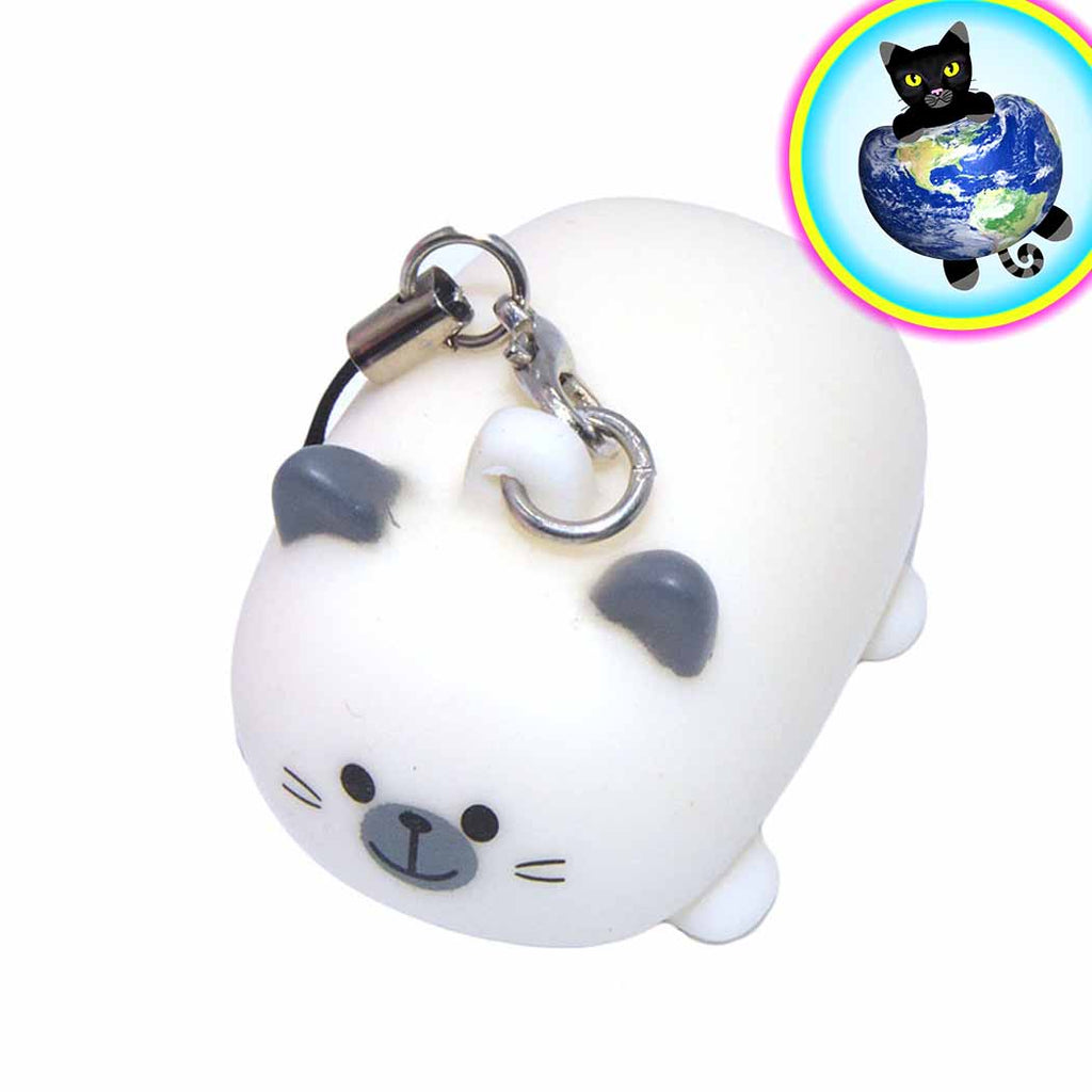 Pooping Cat Squeeze Charm