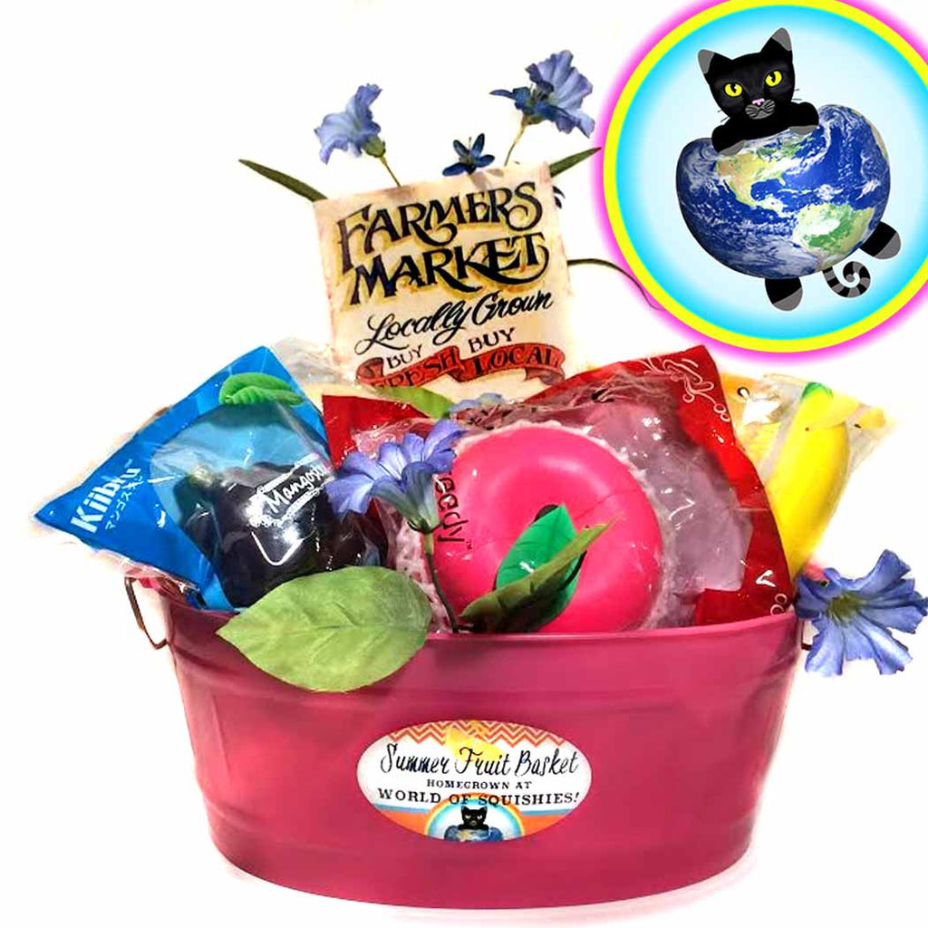 Premium Summer Fruit Basket from World of Squishies
