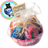 Premium Summer Fruit Basket from World of Squishies in Wrapping