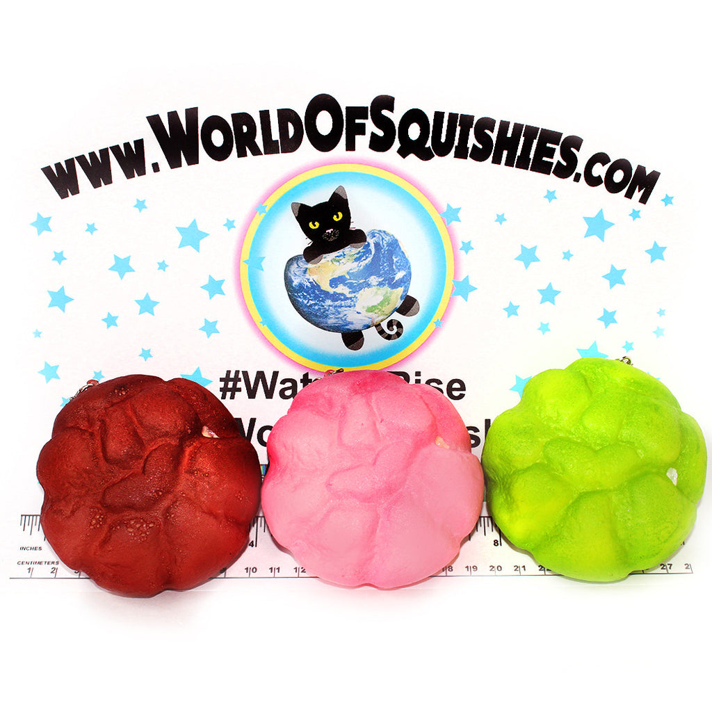 Cream-Filled Puff Bread Squishies at World Of Squishies