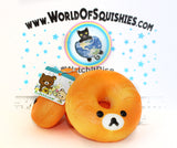 Rilakkuma Jumbo Donut Squishy at World Of Squishies