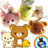 San-X Rilakkuma & Friends Squishy Buns