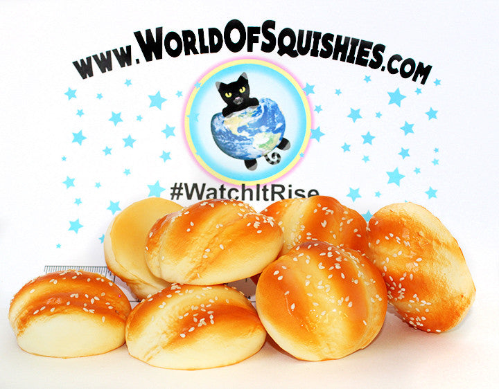 Toasted Sesame Roll Squishies at World Of Squishies