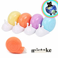 Kawaii Snail Shaped Correction Tape Dispenser