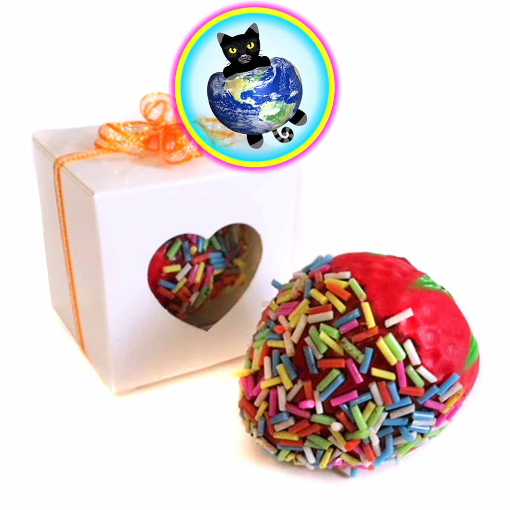 Chocolate-Dipped Strawberry Squishy Gift Box