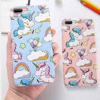 Unicorn Sky Cell Phone Case - Blue