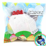 Cutie Creative Clucky Pals Chicken and Egg Plush Squishy