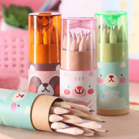Colored Pencil Sets with Animal carton