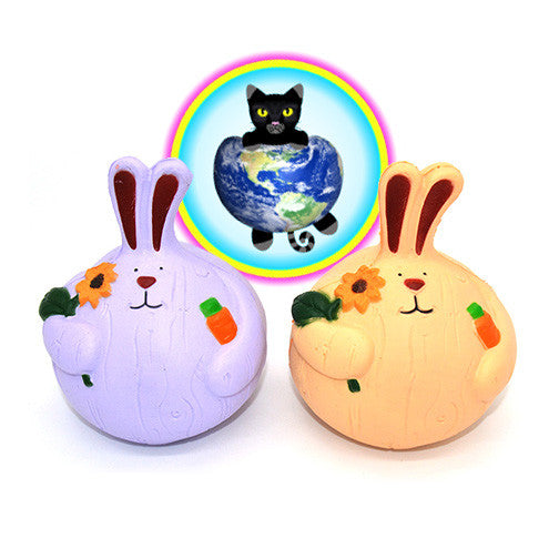 Kiibru Onion Rabbit Squishies