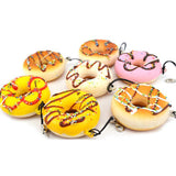 Mini Donut Squishy Charms Side View