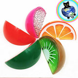 Fruit Slime Containers shown in all variety