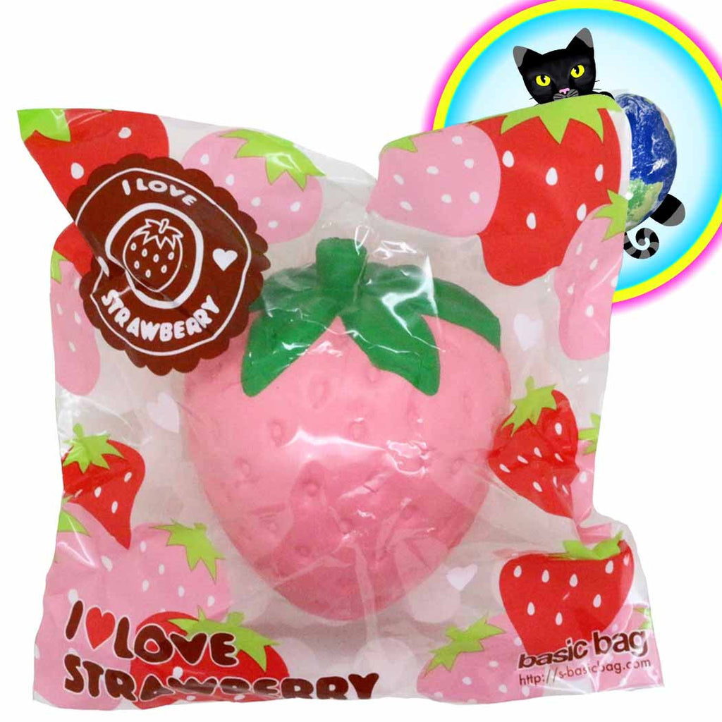 ibloom i love strawberry super big squishy in pink