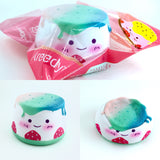 Areedy Slow Rising Rainbow Pudding Squishy