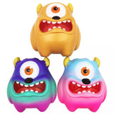 Jumbo Friendly Cyclops Monster Slow Rising Squishy in All Three Colors